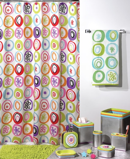 Bath Coordinates Shower Curtains All That Jazz