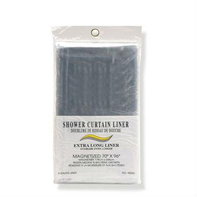 9002 4 Gauge Extra Long Shower Curtain