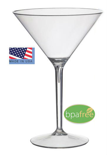 STMI4CLR Martini Glass