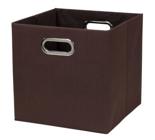 32802-BRN Fold N Store Crate Brown