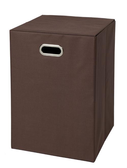 32800-BRN Fold N Store Hamper Brown