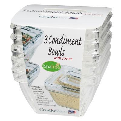 BWLS6 Condiment Bowls