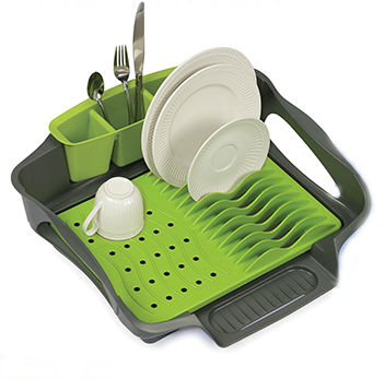 DISRCK-GGR Self Draining Dish Rack