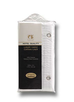 80050WH Hotel Quality Shower Liner