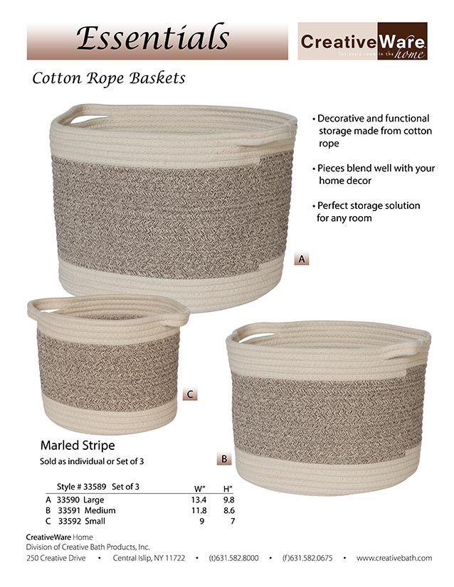 Cotton Rope Baskets
